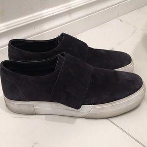 Vince Navy Cage Sneakers Size 9